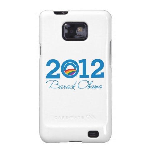 2012 - Orgullo de Barack Obama Samsung Galaxy S2 Fundas