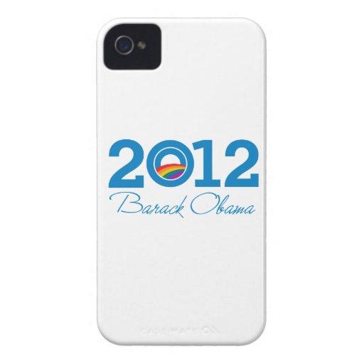 2012 - Orgullo de Barack Obama iPhone 4 Cárcasa