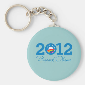 2012 - Orgullo de Barack Obama Llavero
