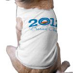 2012 - Orgullo de Barack Obama Ropa De Perro