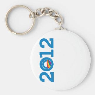 2012 ORGULLO OBAMA LLAVERO