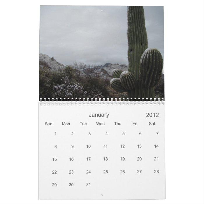 2012 Oro Valley, Arizona Calendar