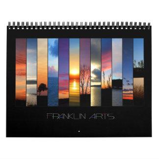 2012 paisajes y paisajes marinos calendarios de pared