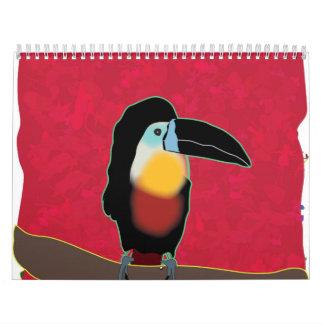 2012 para los niños calendarios de pared