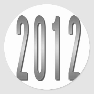2012 PEGATINA REDONDA