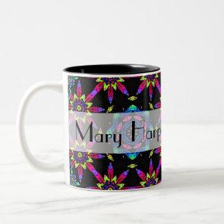 2012 Personalized Kaleidoscope Calendar Gift Mug
