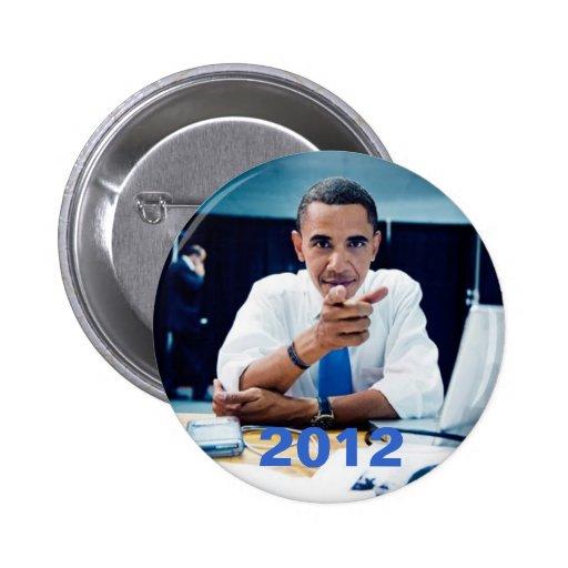 2012 PIN REDONDO DE 2 PULGADAS