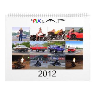 2012 PIX por el calendario Alta del punto