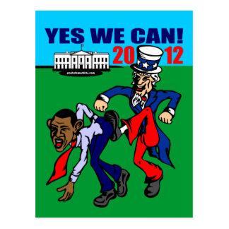 ¡2012 PODEMOS SÍ! TARJETA POSTAL