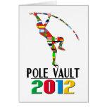 2012: Pole Vault Greeting Cards