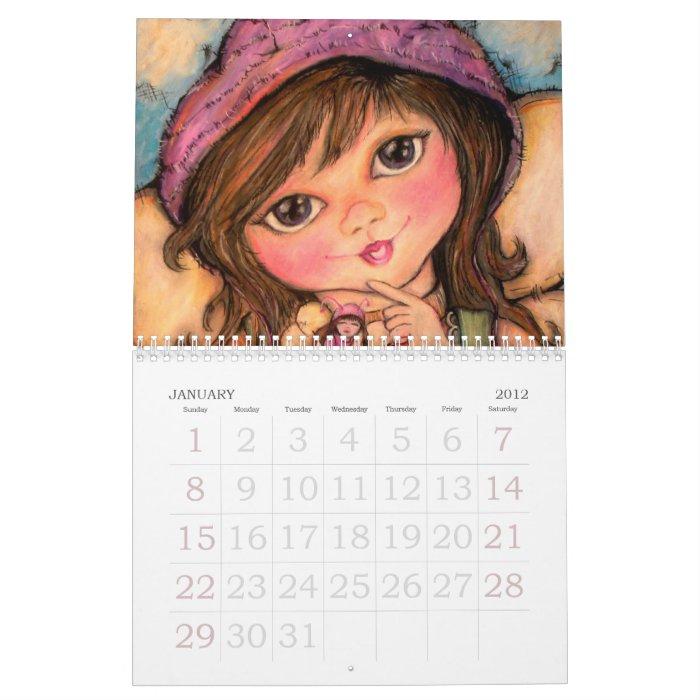 2012 Pop Art Minis Best Friends Calendar