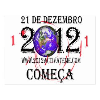 2012 portugese tarjeta postal