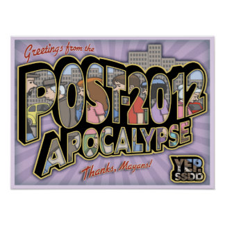 2012-Post-Apocalypse Póster