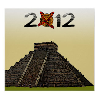 "2012 posters ""Kukulkan maya Chichen Itza"" v2"