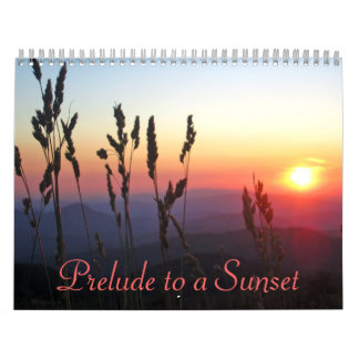 2012 Prelude to a Sunset Calendar
