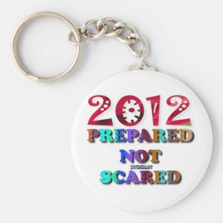 2012 Prepared Not Scared Basic Round Button Keychain