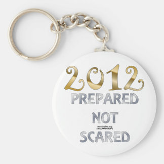 2012 Prepared Not Scared Keychain