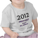 2012 Prepared Not Scared Tee Shirts