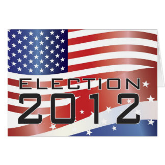 2012 Presidential Election Card