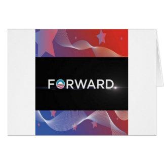 """2012 Presidential Election """"Forward"""" Slogan Gear Card"""