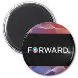 "2012 Presidential Election ""Forward"" Slogan Gear Refrigerator Magnet"