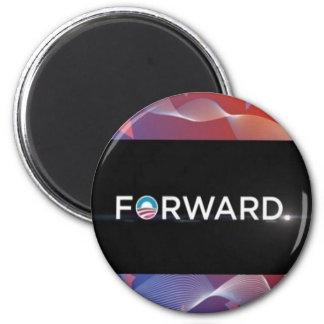 """2012 Presidential Election """"Forward"""" Slogan Gear Magnet"""