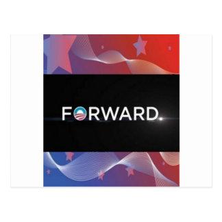 """2012 Presidential Election """"Forward"""" Slogan Gear Postcard"""