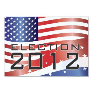 """2012 Presidential Election Invitation 5"""" X 7"""" Invitation Card"""