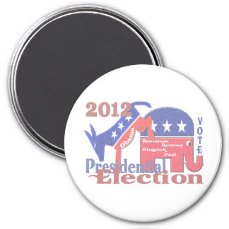 2012 Presidential Election Magnet