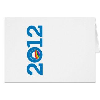 2012 PRIDE OBAMA GREETING CARD