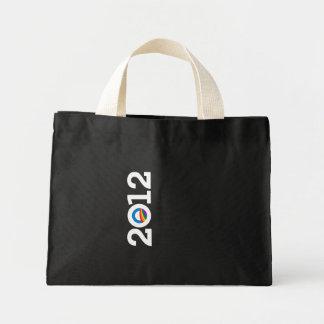 2012 PRIDE OBAMA White Canvas Bags