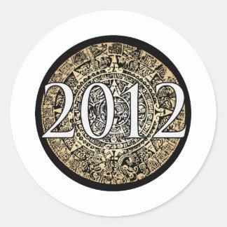 2012 Prophecy Round Stickers