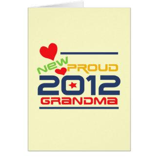 2012 Proud Grandma T-shirts and Gifts Card