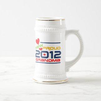 2012 Proud Grandma T-shirts and Gifts Coffee Mugs