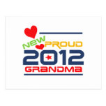 2012 Proud Grandma T-shirts and Gifts Postcards