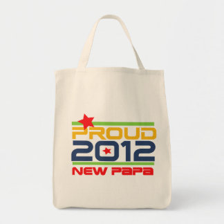 2012 Proud New Papa T-shirts and Gifts Bag