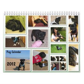 2012 Pug Calendar