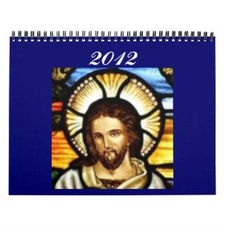 2012 que camina con el señor Calendars Calendario De Pared
