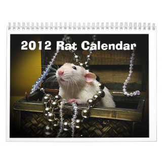 2012 rat calendar