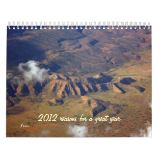 2012 reasons for a great year calendar