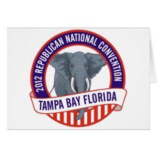 2012 Republican Convention Card