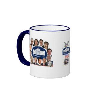 2012 Republican Presidential Candidates Ringer Mug