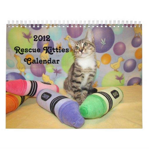 2012 Rescue Kitties Calendar