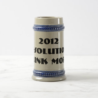 2012 Resolution Beer Stein