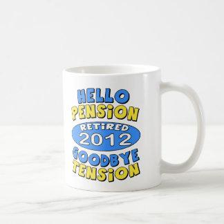2012 Retirement Classic White Coffee Mug