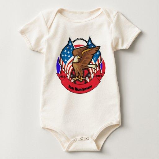2012 Rhode Island for Jon Huntsman Baby Bodysuit