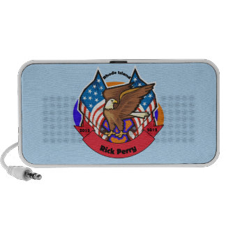 2012 Rhode Island for Rick Perry Portable Speaker