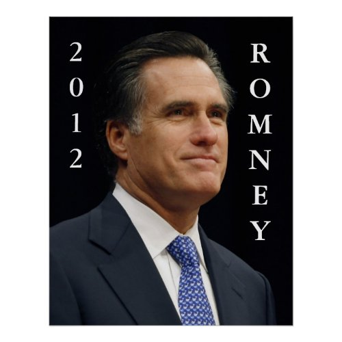 2012 Romney print
