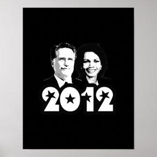 2012 ROMNEY RICE PORTRAIT.png Poster