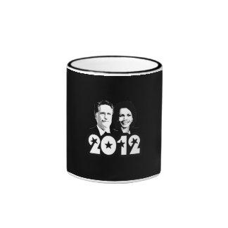 2012 ROMNEY RICE PORTRAIT.png Ringer Coffee Mug